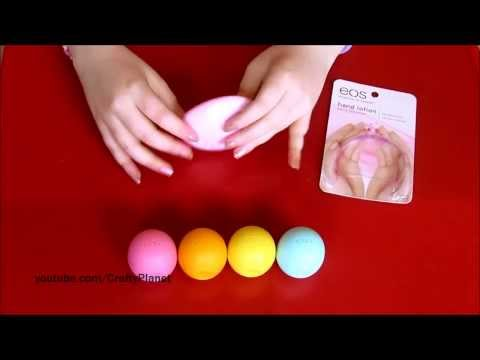 EOS Hand Lotion Haul Review - Evolution of Smooth Lip Butter Lip Tint balm