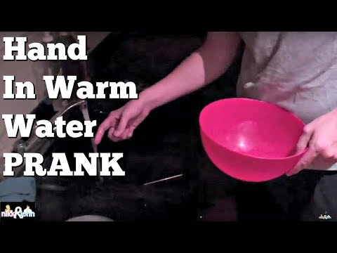 Hand in Hot Water Pee Prank