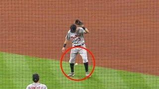MLB Intentionally Dropping Ball (HD)
