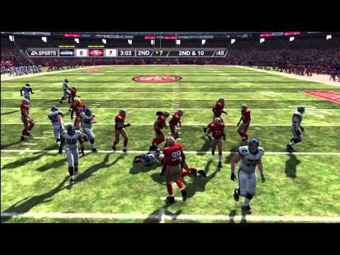 Madden NFL 12 Seahawks Franchise | [Y1G1] Defensive Battle In San Francisco