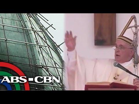 Manila Cathedral inihahanda sa pagbisita ni Pope Francis
