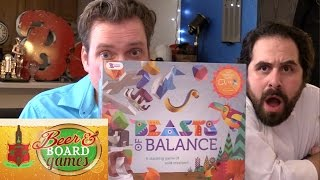 Beasts of Balance FAIL + Klask - Beer and Board Games