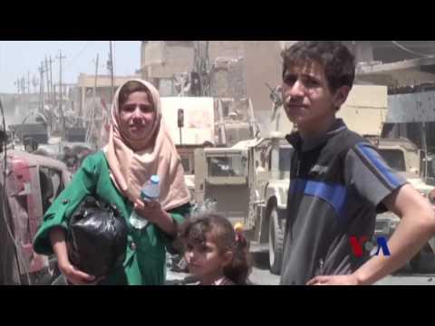 戰地報道:激進分子槍擊摩蘇爾逃難平民