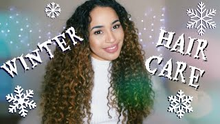 My Winter Hair Care Tips! COLLAB WITH SAYRIA JADE!