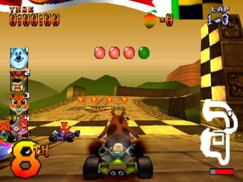 """a comparison of the games crash team racing and mario kart Crash team racing takes the term """"mario kart clone"""" to an extreme not only are the two games similar in terms of gameplay, graphics, premise, music, weapons and mode, but crash team racing's copies mario kart's tracks blatantly."""