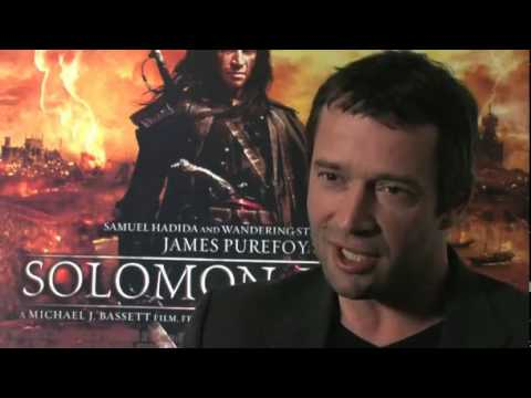 James Purefoy on killing James Bond and getting slashed with a sword! Video