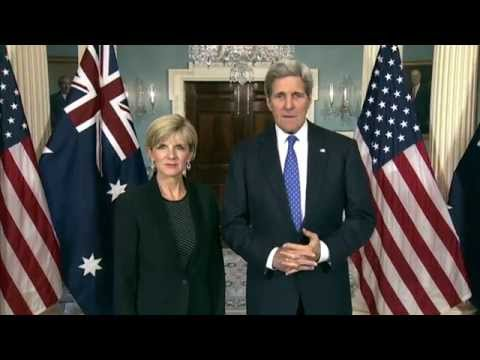 Secretary Kerry Delivers Remarks With Australian Foreign Minister Bishop