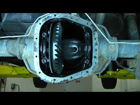 2001 Ford F150 Rear Differential Fluid Replacement