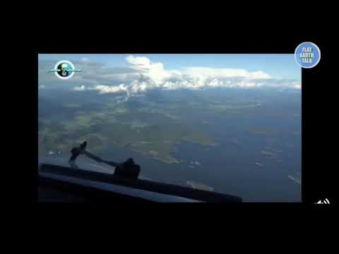 This pilot admits to know the earth is FLAT