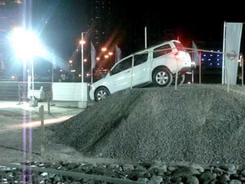 Off-road тест Nissan Armada