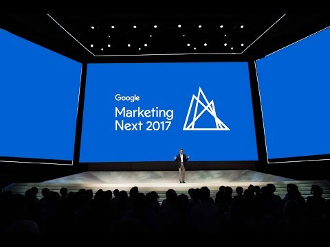 Google Ads. Analytics and DoubleClick Announcements Keynote