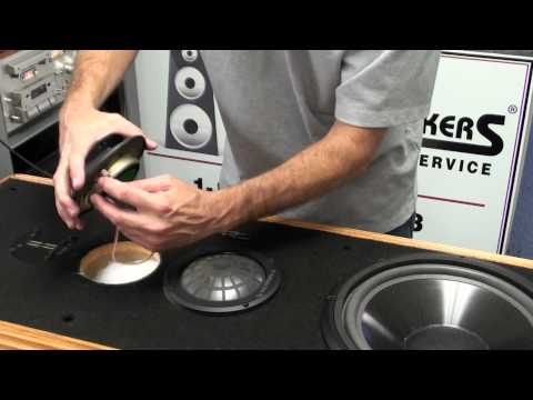 Infinity Speaker Repair Kappa Woofer and Dome Midrange Replacement by Simply Speakers