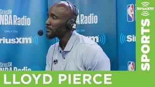 Hawks Head Coach Lloyd Pierce Is Excited About His Team