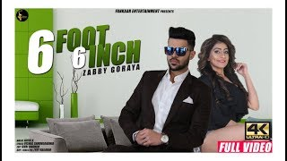 6 Foot 6 Inch  Full Video  Zabby Goraya  Mehak Ros