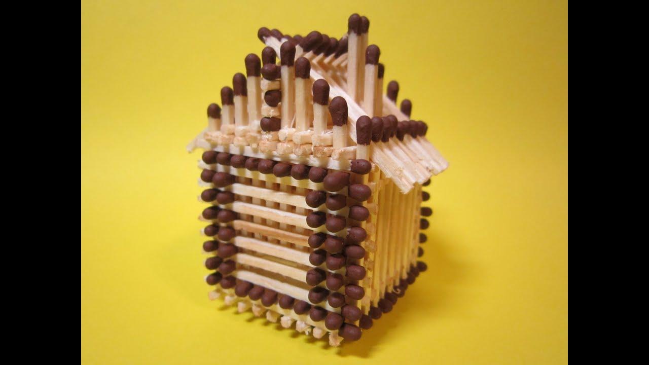 Как сделать спичечный замок фото 369