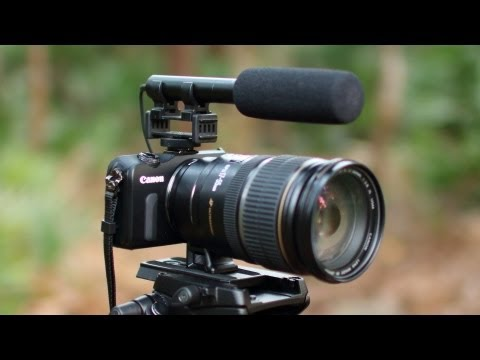Canon EOS M Lens Mount Adapter and ISO Video Test