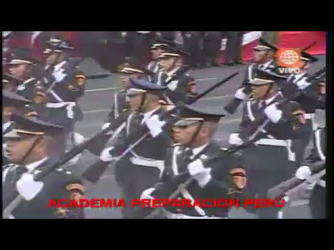 Colegio Militar Leoncio Prado en Desfile Militar 2009