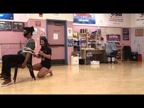 Derrick Sy asking Cheyenne to prom at Diamond bar High school