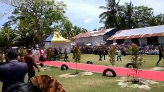 Presiden Jokowi meresmikan Titik Nol Agama Islam Nusantara