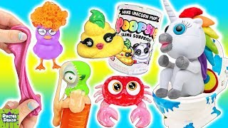 DOOKIE Delivery Time! Unicorn Slime Surprise Pineapple & Bubbleezz Pets! Doctor Squish