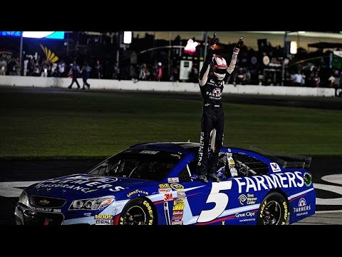 Kahne steals win, earns Chase birth
