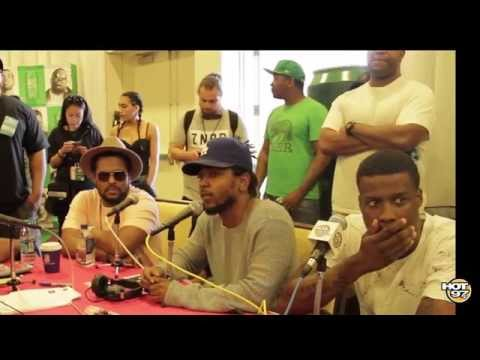 Kendrick Lamar & Schoolboy Q Discuss Charleston Church Shooting (VIDEO)