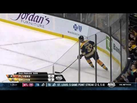 Shawn Thorton vs Zac Rinaldo fight Mar 9 2013 Philadelphia Flyers vs Boston Bruins NHL Hockey