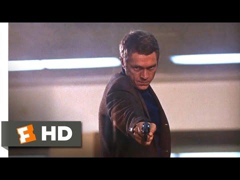 Bullitt (1968) - Airport Shootout Scene (10/10)   Movieclips