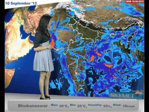 Skymet Weather Report - India September 10, 2012
