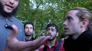 Video: Feminism demands Absolute Equality. So, where are the Women? - Mohammed Hijab vs Spanish Eduardo