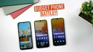 Redmi Note 7 Pro vs Galaxy M30 vs Galaxy A30: Ultimate Comparison | PUBG | Camera | Features | Price