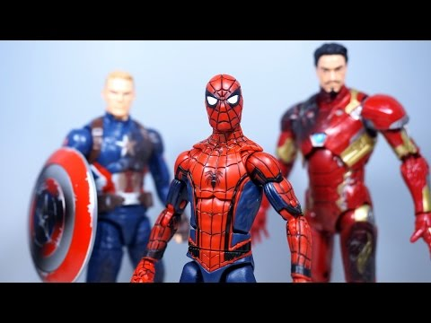 Marvel Legends CIVIL WAR 3 PACK Figure Review