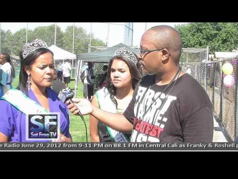 Set Free TV - 2012 Juneteenth in Fresno, CA with (Ben J of the New Boyz & Hip-Hop Femcee Yo-Yo)