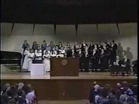 Ambassador College Chorale - Graduation 1989