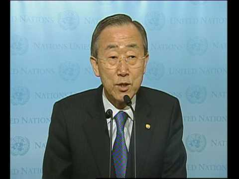 NewsNetworkToday: HAITI EARTHQUAKE: GRIM DEATHS SAYS U.N. S-C BAN KI-MOON (UNTV)