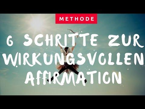 Glaubenssätze und Affirmationen - 6 Schritte wie Glaubenssatzarbeit wirklich gelingt