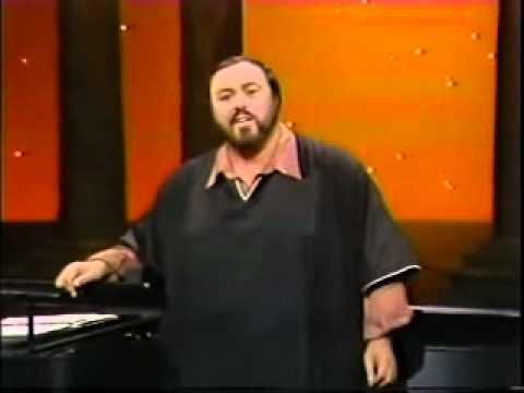 Luciano Pavarotti / Tosti /  L´ Ultima Canzone