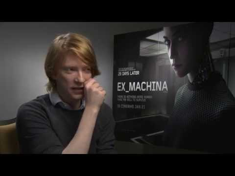 Domhnall Gleeson Interview For Ex Machina