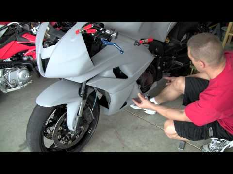 Motorcycle Race Fairing Install Howto