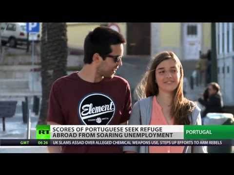 On the Run: No jobs, slave wages drive Portuguese abroad