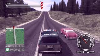 Deadly Premonition XBOX ONE Greenvale Driving To Harry's Mansion 11.12.18