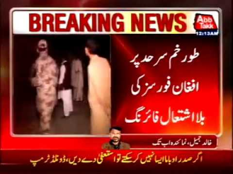 Afghan Forces Unprovoked Firing At Torkham Border, 1 Soldier Wounded