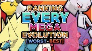 Ranking Every Pokemon Mega Evolution From Worst To Best