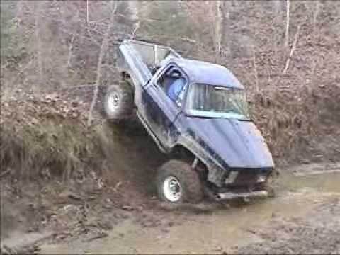 duncans1.5.wmv mud trail chevy jeep hill climb Video