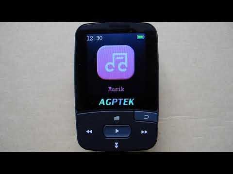 AGPTEK A50 Bluetooth 8GB MP3 Player