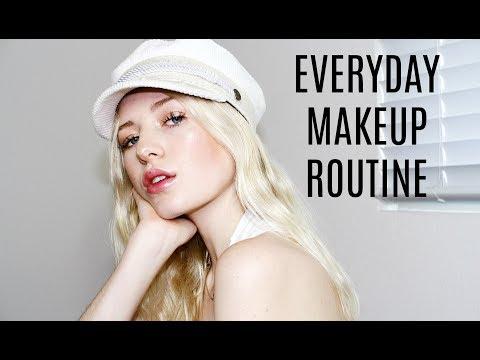 MY EVERYDAY MAKEUP TUTORIAL, flawless foundation routine / Kallie Kaiser