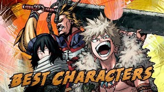 Crunchyroll's Boku no Hero Academia Top 10 Best Characters Popularity Poll