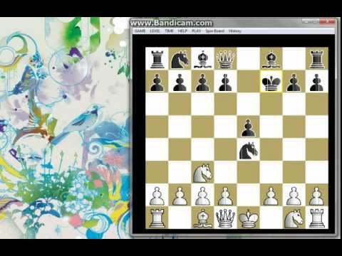 Šahovki trik u otvaranju -BEČKA partija #121 šah i mat
