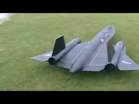 Black Bird SR71 rc turbine