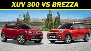 Mahindra XUV 300 vs Maruti Brezza |Budget SUV 2019|